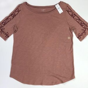 NWT Loft Outlet Tee